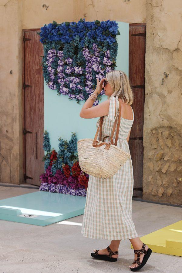 Desert Totes French Market Shopper Tote Bag