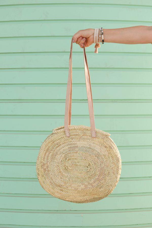 Desert Totes Straw Woven Bag