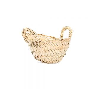 Desert Totes extra small hand woven straw tote